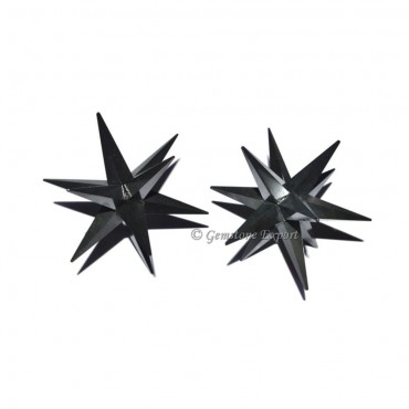 Tourmaline 12 Point Star