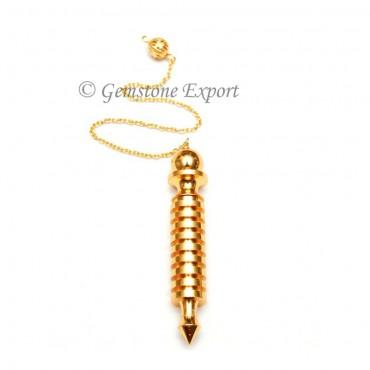 Nine Isis Gold Pendulums
