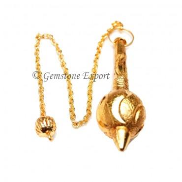Gada Gold Metal Pendulums