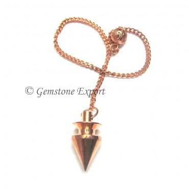 Coper Carved Pendulums