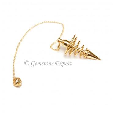 Golden Spiral Pendulums