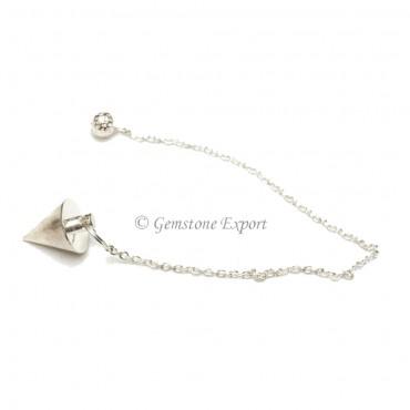 Silver Cone Pendulums