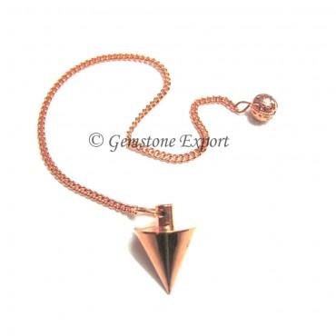 Cone Copper Pendulum