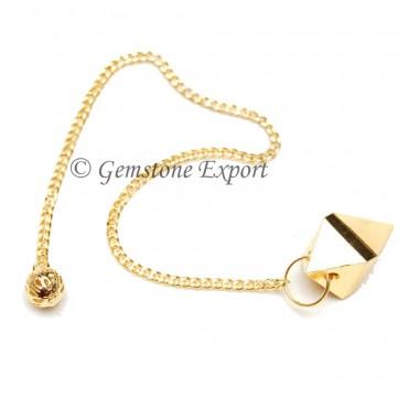 Golden Pyramid Pendulum