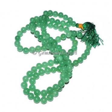 Green Aventurine Japa Mala