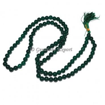 Green Jade Japa Mala