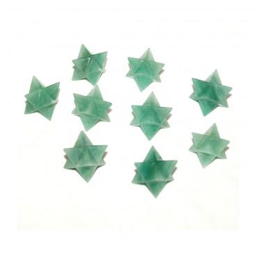 Green Aventruine Merkaba Star