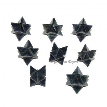 Blue Aventurine Merkaba Star
