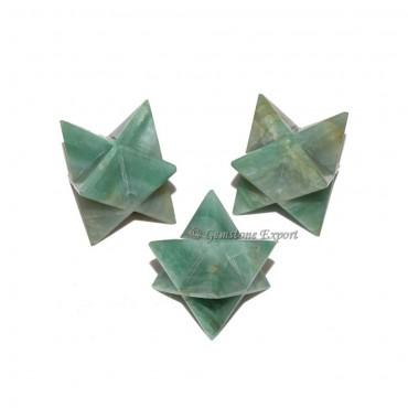 Green Aventurine Big Merkaba Star