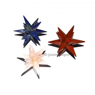 12 Point Mix Gemstone Star