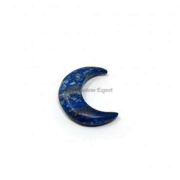 Lapis Lazuli Moon Shaped Stone