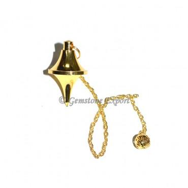UFO Brass Metal Pendulums