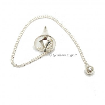 Silver UFO Brass Pendulums