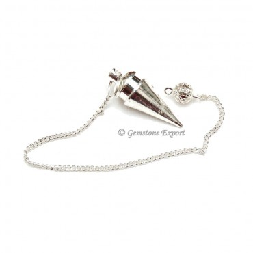 Silver Curved Metal Pendulums