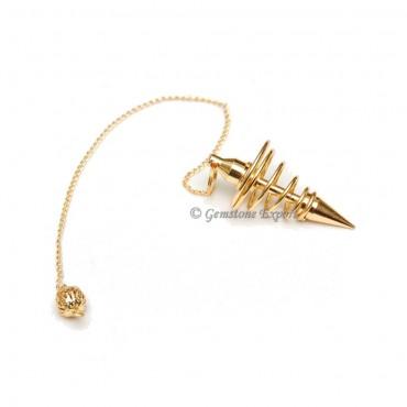 Golden Small Spiral Pendulums