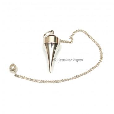 Silver Plane Brass Pendulums