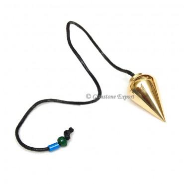 Golden Drop Metal Pendulums