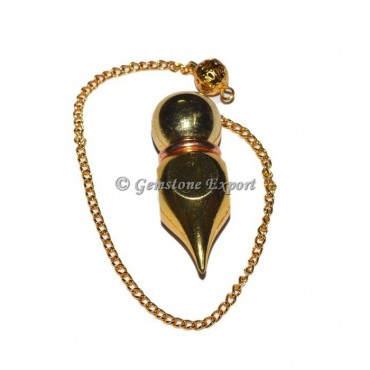 Round Brass Golden Metal Pendulums