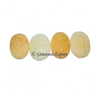 Yellow Aventurine Natural Polished Set