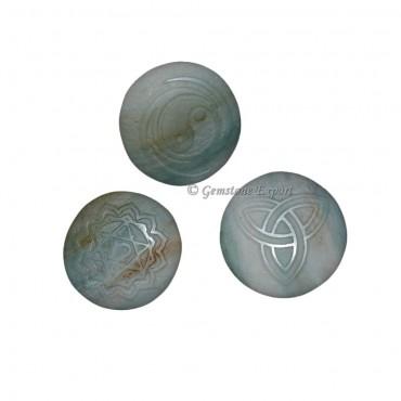 Natural Engraved Reiki Symbol Set
