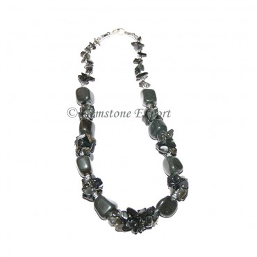 Black Agate Fashion Necklace