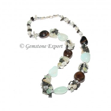 Onyx Stones Fashion Necklace
