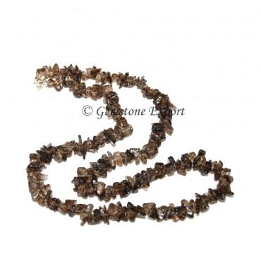 Smokey Quartz Chips Necklace