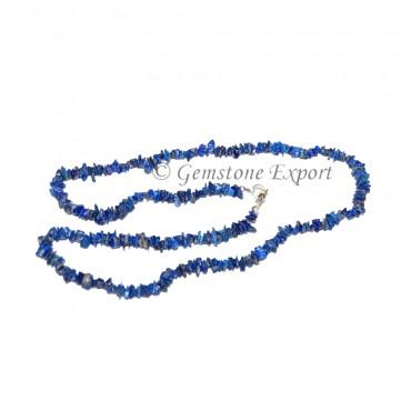 Lapis Lazuli Chips  Necklace