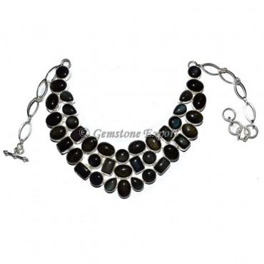 Raibow Obsidian Nekclace