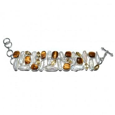 Tiger and Opal Bracelets