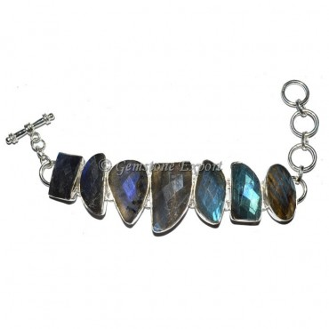 Labrodrite faceted Bracelets