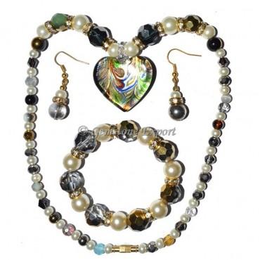 Fashion Crystals Imitatin Necklace
