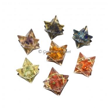 Seven Chakra Orgone Merkaba Star