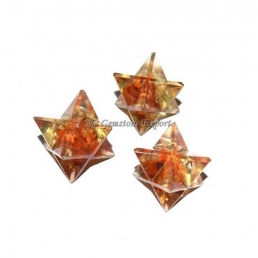 Carnelian Orgone Merkaba Star