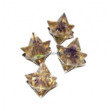 Amethyst Orgone Merkaba Star