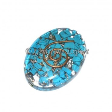 Orgone Turquoise Oval