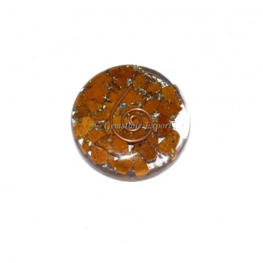 Orgone Jasper Disc