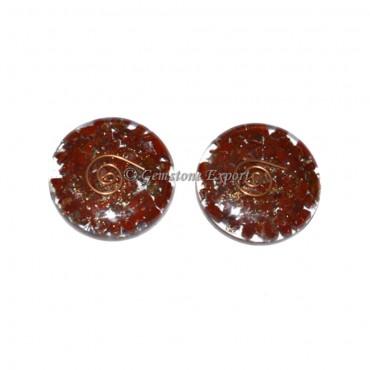 Orgone Red Jasper Disc