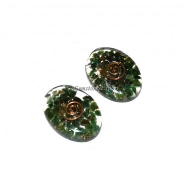 Orgone Green Jade Oval
