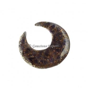 Amethyst Orgonite Moon
