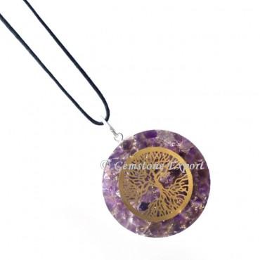 Amethyst tree of life orgone pendants for sale gemstone export aloadofball Images