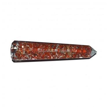 Red Jasper Orgone Obelisk Healing Point