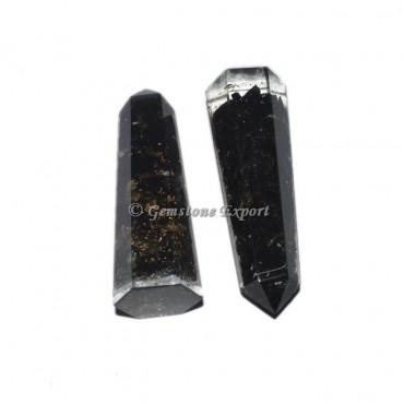 Orgone Black Tourmuline Obelisk