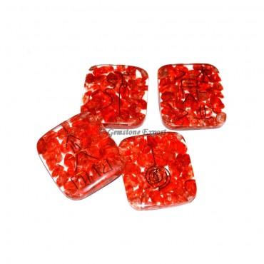 Red Jasper Orgone Usui Reiki Set