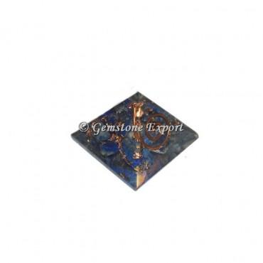 Lapis Lazuli Orgonite Baby Pyramid