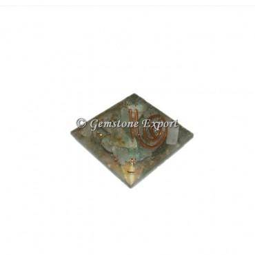 Green Aventurine Orgonite Baby Pyramid