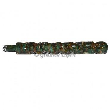 Green Aventurine Orgonite Healing Wands
