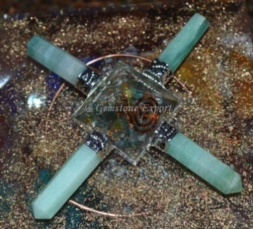 Orgone Green Jade Healing Generator