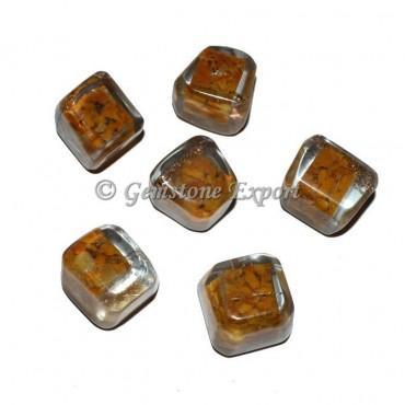Yellow Jasper Orgonite Tumbled Stones