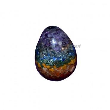 Orgone Chakra Stone Eggs